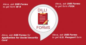 Dilli Forms Alexa Skill Logo