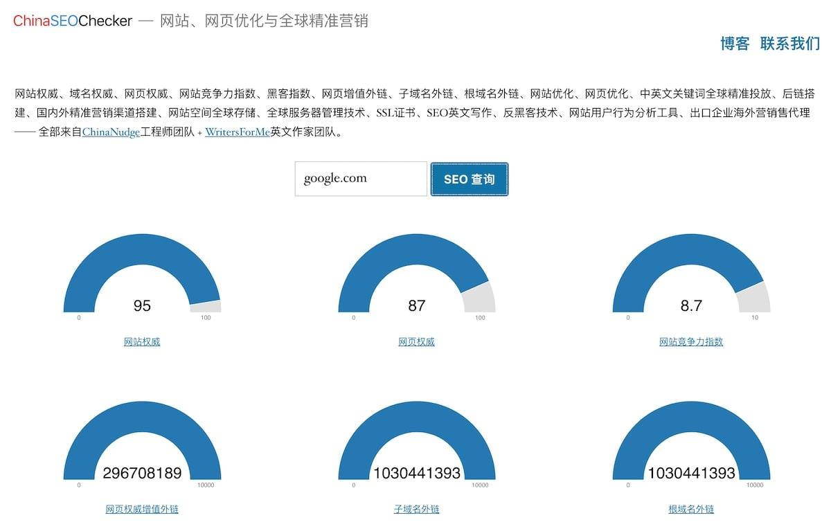 ChinaSEOChecker.com
