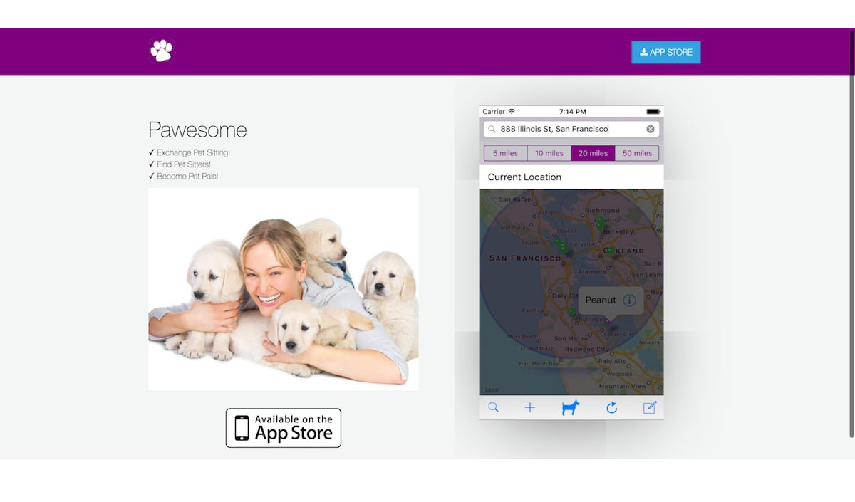 Pawesome.app